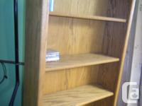 Very nice sturdy Bookcase in excellent condition.Great