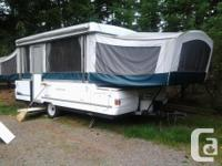 Coleman mesa hard top tent trailer. Model 3451 --