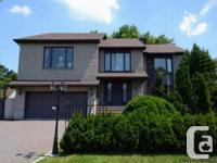 House Brossard for sale - 6 bedrooms - Large executive