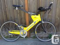 Excellent tri bike. Softride Classic TT, 650 wheels,