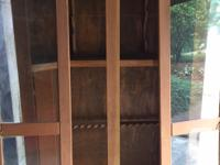 I have a very large custom wooden gun cabinet/display