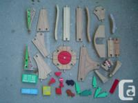 Big Lot of Thomas & Pals Wooden Train Collection