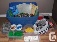 HUGE lot of thousands and THOUSANDS of Lego. I could