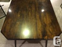large multi purpose table with nice lacquer finish -