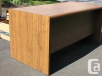 Large office desk with drawers. 60 inches (152 cms)