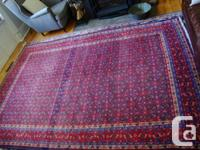 large semi-antique carpet purchased at a Fine Art and