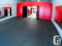 Fantastic opportunity! Boutique style fitness studio in