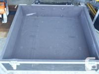 Large Road Case (Axe Brand). Was used for mixing board.