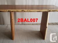 Large selection of Live Edge Dining & Bar Tables from