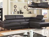 IF 9320, 1 PICTURE. RIVERSIBLE SOFA SECTIONAL FEATURE