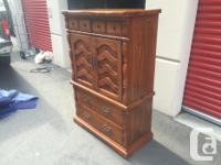 this is a beautiful dresser made by sklar peppler. its