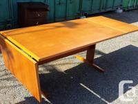Beautiful teak solid wood - It's in great shape! -