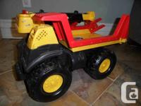 Large trucks for your little builders, solidly built