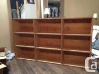Asking $50 obo I had this shelf custom built to store