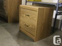 Selling a large wooden bedroom dresser with two