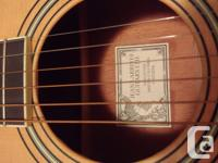 This beautiful Larrivée guitar was purchased in 2001