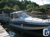 1989 Larson San Marino. This cruiser has a distinct