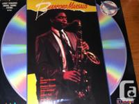Laser Disc Jazz Lot, two Laser Disc's of music legends