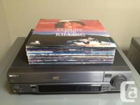 I have a Sony combination Laser Disc and CD Player that