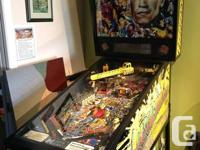 Among the most action-packed pinball devices offered