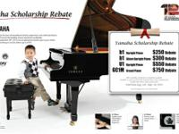 Offer Available at Authorized Yamaha Canada piano