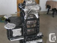 Rare Late 1800's McClary Famous Base Burner Parlor