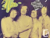 "Three albums: ""Nice""...Immediate Z12 52022 ""Keith"