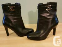 Lauren by Ralph Laurent Black leather boots Selling new