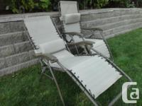 Lawn Lounging Chairs Zero Gravity Folding