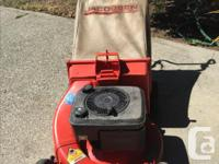 """Self Propelled Gas Lawn Mower. Jacobsen 4 HP, 21"""" Super, used for sale  British Columbia"""