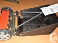 Husqvarna Nova 64 lawn mower with grass catcher, used