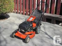 ARIENS 21 inch self-propelled lawn mower with bag, 6 HP