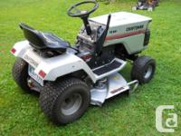 "Sears Craftsman 2 11HP lawn Tractor - 5 Speed - 36"" Cut"
