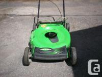 Lawnmower deck assembly, self-propelled, very good
