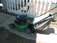I have a 3 year old Lawnboy Self Propelled Lawnmower