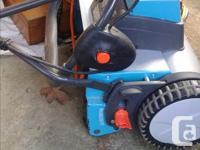 Gardena battery powered reel lawnmower runs great only