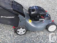 Self propelled lawn mower 4.5 Horsepower Briggs &