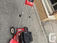 I'm selling a Lawnmower Toro and Snowblower Toro, both