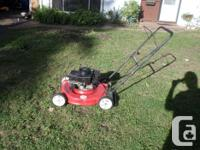 Lawnmower Turf Power 3.5hp 20 inch Side-Shooter 45.00