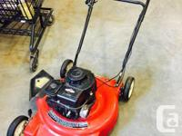 PRICE REDUCED!!! Red mastercraft lawnmowers as shown
