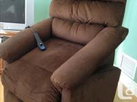 LazBoy Luxury-Lift Power Recliner with batter back-up.