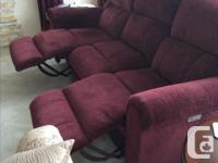 Almost new, used 6 months, Lazyboy power recliner