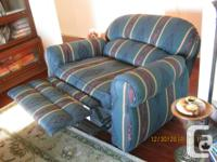 "Like new Lazyboy ""Chair and a Half Recliner Rarely used"