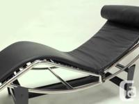 Highest quality reproduction. In 1928, the LC4 Chaise