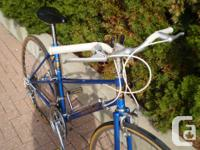Le Circuit women's 19 inch Mixte 10-speed this bike has