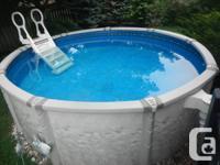 "Leader Pool - ""Aqua-Leader Mirage"" 12 foot over ground"