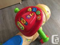 Gallop & Rock Learning Pony by VTech converts from a