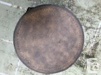 "2 Eddie Bauer leather barrels Smaller barrel 16"""