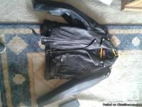 Leather Biker Jacket for sale Exellent quality, new