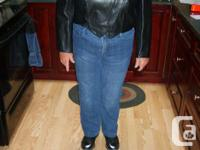 This is a hand made natural leather jacket made from